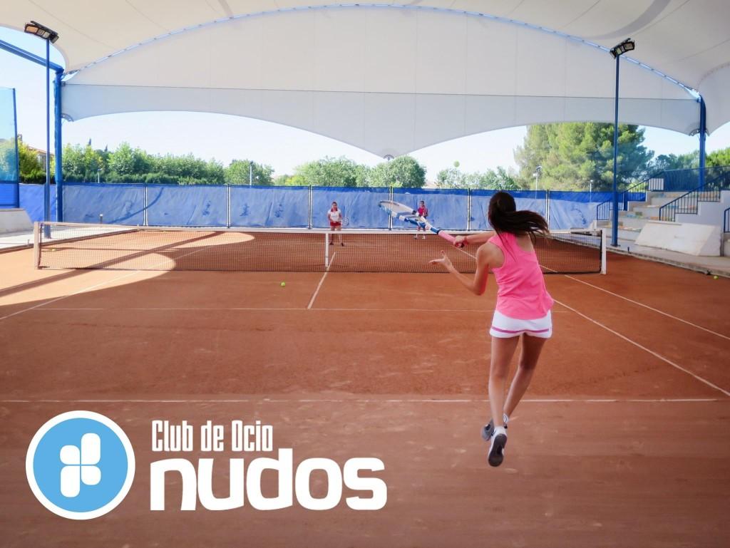 Tenis femenino tierra batida