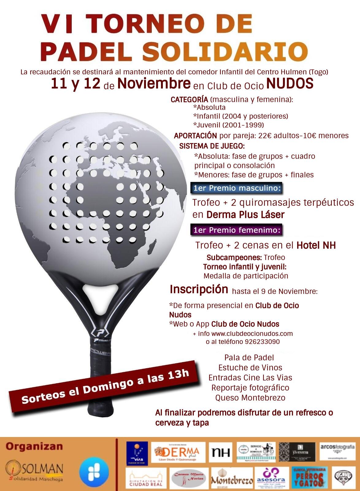 107e3f954db VI Torneo de Pádel Solidario SOLMAN – Nudos